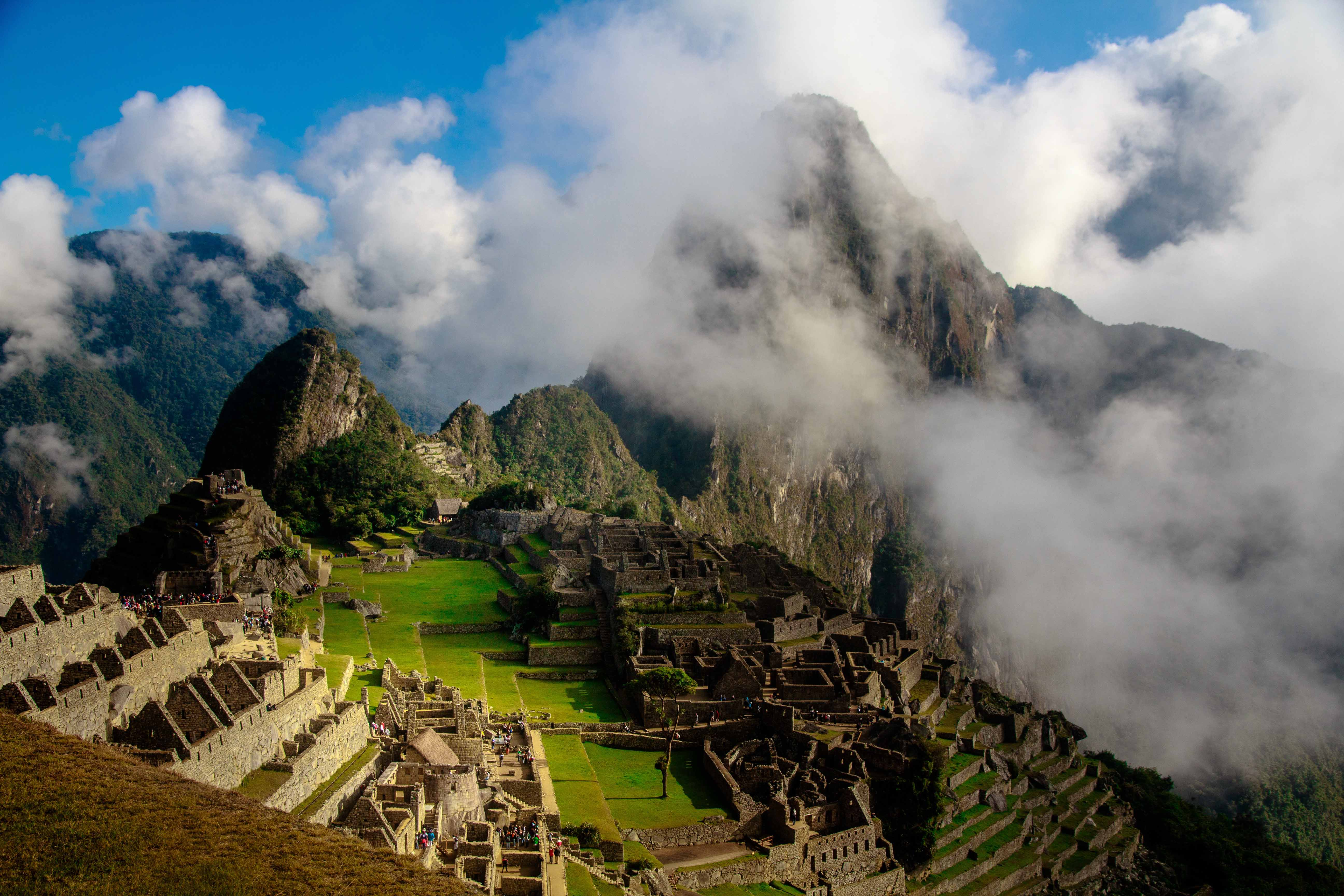 MachuPichu with Clouds