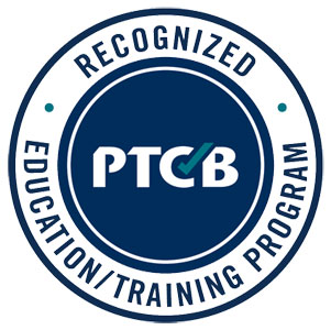 Pharmacy Technical Certification Board Recognized Education/Training Program logo